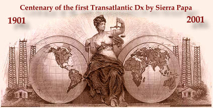 Centenary of the first transatlantic DX 1901